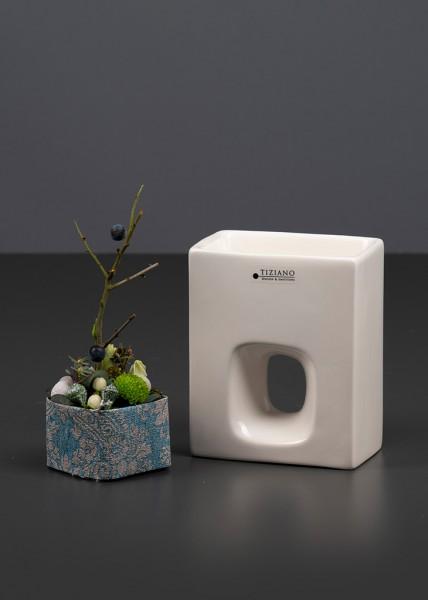 Pflanzgefäß Quadro flach 18 cm