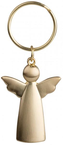 Schlüsselanhänger Engel gold