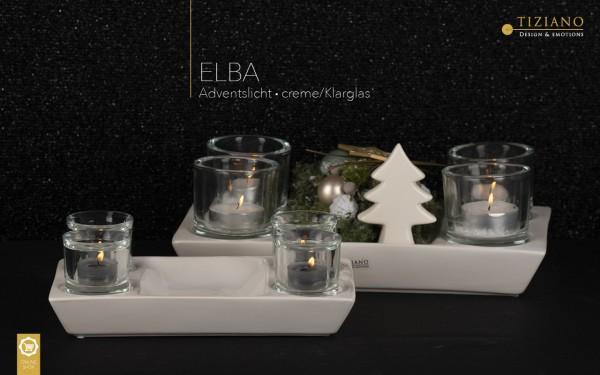 Adventlicht Elba eckig
