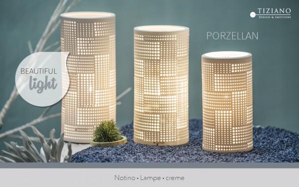 Porzellanlampe Notino